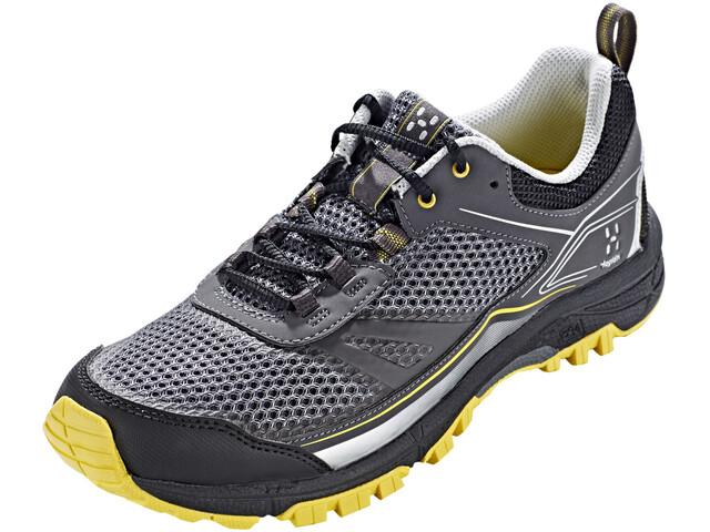Haglöfs Gram Trail Shoes Women Magnetite/Frozen Yellow